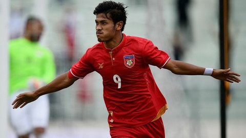 ĐT Myanmar ngược dòng hạ Campuchia bằng 4 bàn thắng trong hiệp 2