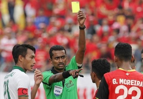 Cau thu Indonesia va Dong Timor au da tai SEA Games 2017 hinh anh