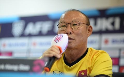 HLV Park Hang-seo chi ra van de cua hang thu DT Viet Nam hinh anh