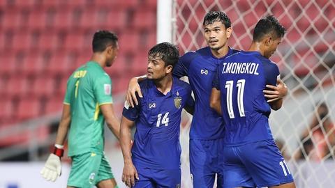 Kraisorn bị phong tỏa, ĐT Thái Lan đứt mạch thắng tại AFF Cup