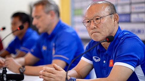 HLV Park từ chối tiết lộ đội hình, thừa nhận trận gặp Myanmar khó khăn