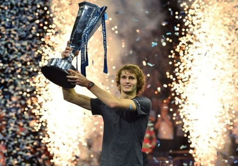 Zverev thang chong vanh tay vot so mot the gioi de vo dich ATP Finals hinh anh
