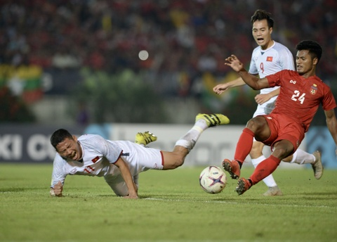 HLV Myanmar xếp 5 cầu thủ dự bị vì trận gặp Malaysia quan trọng hơn