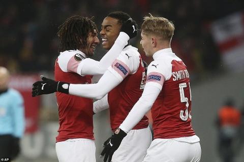 Ngoi sao tre giup Arsenal chiem ngoi dau bang tai Europa League hinh anh