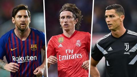 Modric tu hao vi vuot qua Messi va Ronaldo, muon giai nghe o Real hinh anh