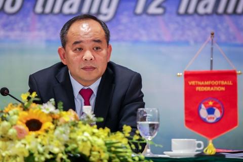 Tan Chu tich VFF dat muc tieu dua tuyen Viet Nam du World Cup hinh anh
