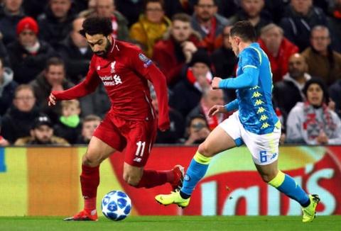 Liverpool 1-0 Napoli: Salah tỏa sáng