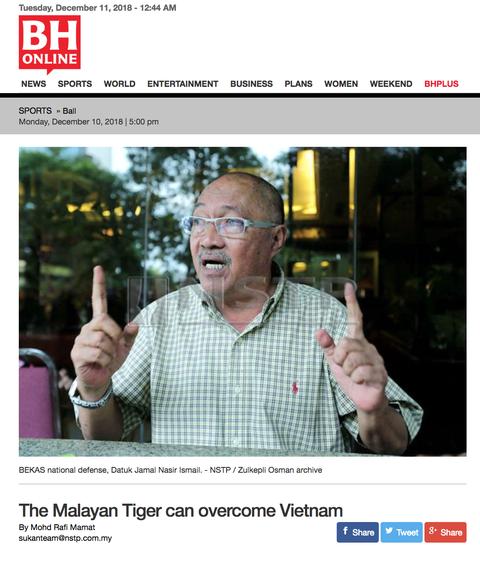 Bao chi Malaysia tu tin co du vu khi de danh bai tuyen Viet Nam hinh anh 2