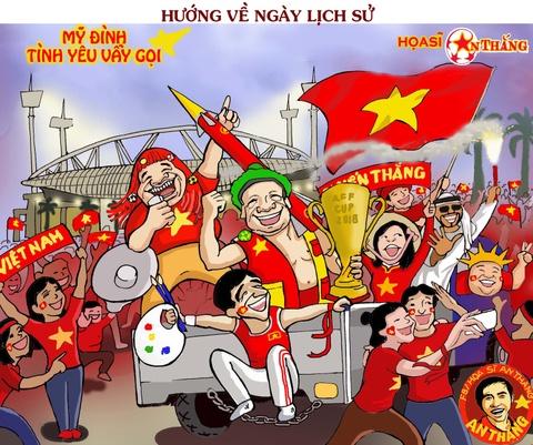 Hi hoa tuyen Viet Nam huong ve chuc vo dich AFF Cup 2018 hinh anh 9