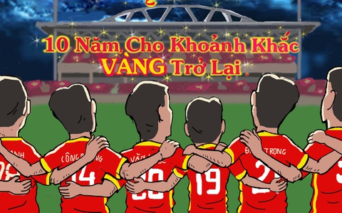 Hí họa tuyển Việt Nam hướng về chức vô địch AFF Cup 2018