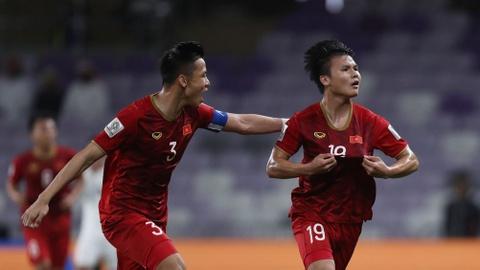 Tuyển Việt Nam cần thêm 1 bàn thắng để vào vòng 1/8 Asian Cup