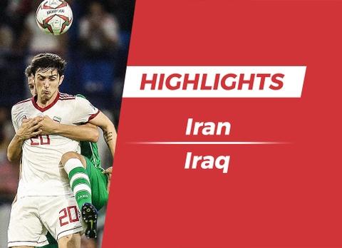 Highlights Asian Cup 2019: Iran 0-0 Iraq hinh anh