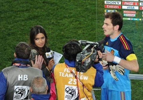 Nhan sac quyen ru cua vo Casillas truoc khi phat hien ung thu hinh anh 5