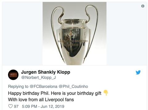 Coutinho bi CDV Liverpool che gieu trong ngay sinh nhat hinh anh 5
