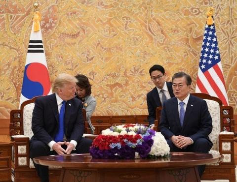 TT Trump toi tham Han Quoc giua cang thang voi Trieu Tien hinh anh 8
