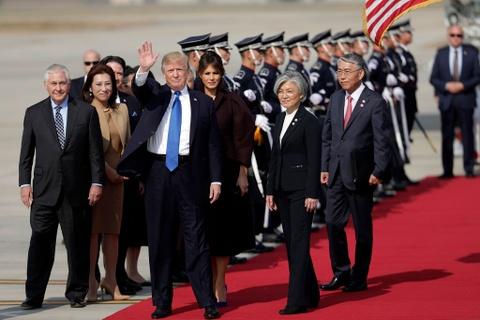 TT Trump toi tham Han Quoc giua cang thang voi Trieu Tien hinh anh 3