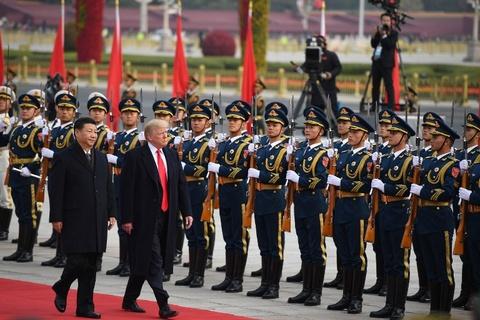 Trung Quoc don Trump bang nghi le dac biet nhat trong gan 70 nam hinh anh 4