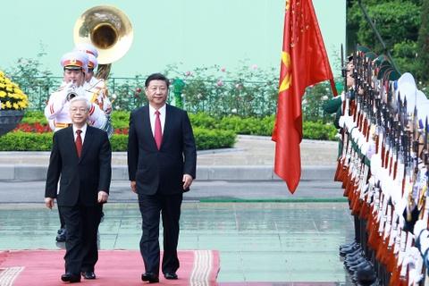 Chuyen tham Viet Nam cua Chu tich Trung Quoc Tap Can Binh hinh anh 7