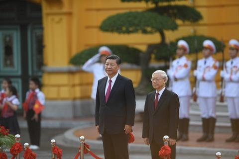 Chuyen tham Viet Nam cua Chu tich Trung Quoc Tap Can Binh hinh anh 6
