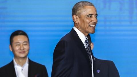 Obama tai xuat voi chuyen tham chau A sau khi roi nhiem so hinh anh