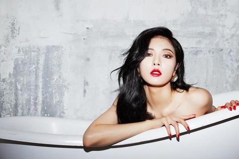 Cu dan mang Han me HyunA, IU, Girl's Day nhat nam hinh anh