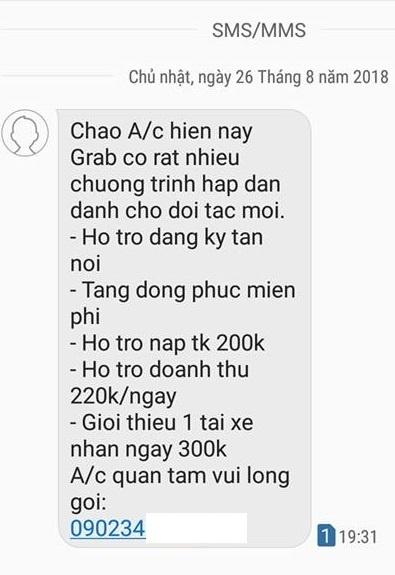 Den luot Grab chieu du tai xe Go-Viet o TP.HCM hinh anh 2