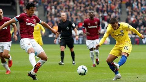 West Ham vs Chelsea (0-0): Danh mat co hoi doi lai ngoi dau bang hinh anh