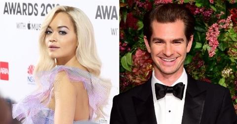 Rita Ora bi mat hen ho 'Nguoi Nhen' Andrew Garfield hinh anh