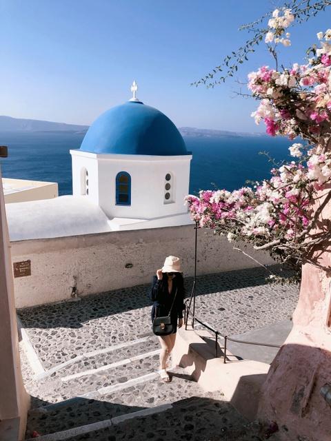 #Mytour: Hanh trinh chay theo anh hoang hon o Santorini hinh anh 3