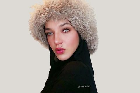 Feriel Moulaï - mỹ nhân tuyệt sắc đại diện cho nét đẹp Hồi giáo