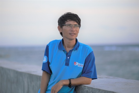 Nguyen Van Gioi chia se ve dao Phu Quy hinh anh