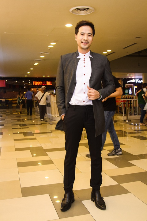 MC Ky Duyen hon Truong Quynh Anh tren tham do ra mat phim hinh anh 10