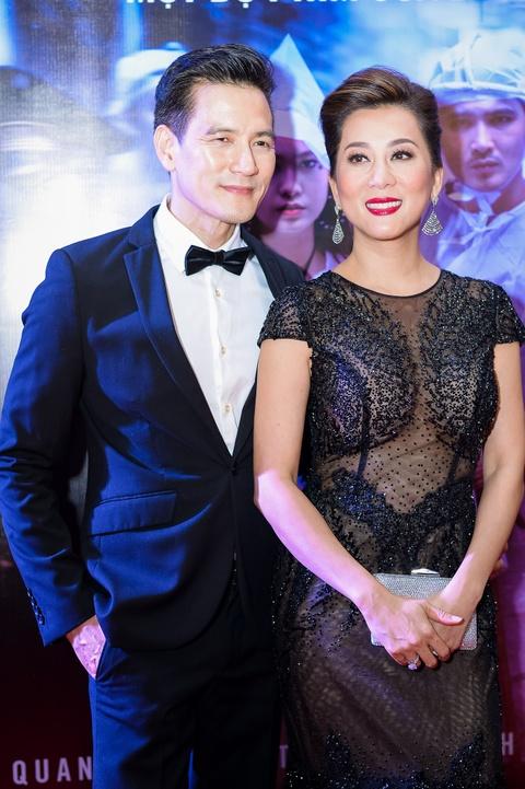 MC Ky Duyen hon Truong Quynh Anh tren tham do ra mat phim hinh anh 2