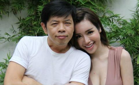 Elly Tran lam con dau 'ho' cua Thai Hoa trong phim hinh anh