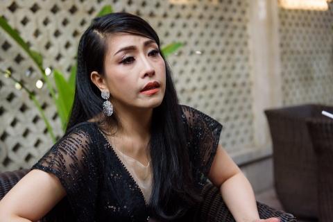 Sau khi ly hon chong thu hai, Kieu Oanh thua nhan dang yeu Hoang Nhat hinh anh 1