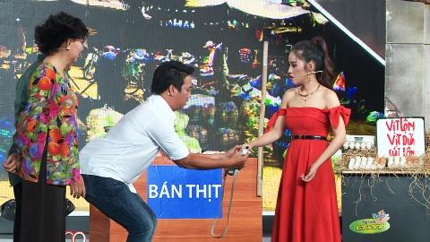 'Kieu nu lang hai' Nam Thu vuot mat Kha Nhu khi pha an hinh anh