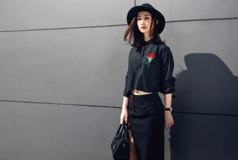Hot girl Jun Vu nang dong xuong pho Sai Gon hinh anh 3