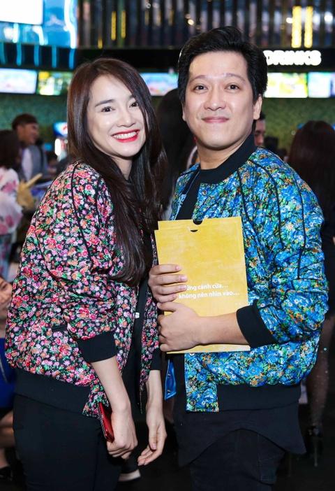 Truong Giang, Nha Phuong mac do doi di xem phim hinh anh 1