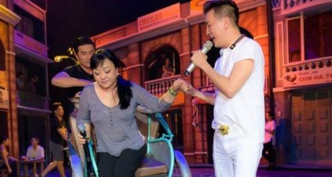 Dam Vinh Hung, Huong Lan tap duot truoc dem dien Bolero hinh anh
