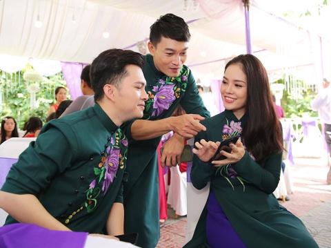 Dan dien vien ve Tra Vinh du le cuoi Le Phuong hinh anh 13