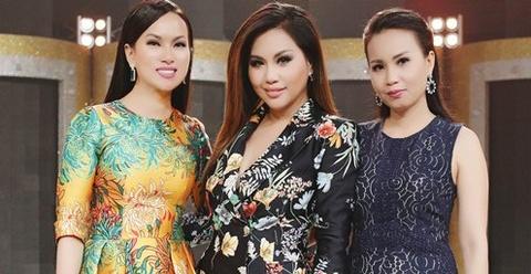 Chi em Cam Ly, Ha Phuong, Minh Tuyet lan dau hoi ngo trong game show hinh anh