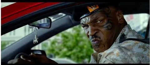 Mike Tyson voi nhieu pha hanh dong nguy hiem trong phim quay o Sai Gon hinh anh