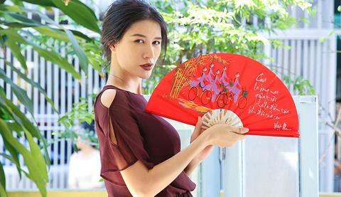 Trang Tran hoan le cuoi voi ong xa Viet kieu vi phim 'Yeu em bat chap' hinh anh