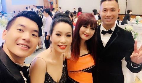 Sao Việt từ Sài Gòn ra Hà Nội dự đám cưới Trương Nam Thành