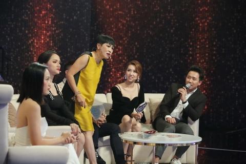 Tran Thanh thua nhan biet on Tien Dat tai chuong trinh Nguoi ay la ai hinh anh