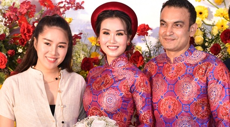 Le Phuong, Hoa Minzy du tiec cuoi ca si Vo Ha Tram hinh anh