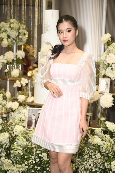Tran Thanh cung dan sao du tiec cuoi cua Duong Khac Linh va Sara Luu hinh anh 10