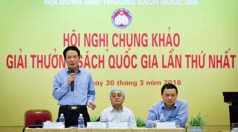 Giai thuong Sach Quoc gia duoc cham nhu the nao? hinh anh