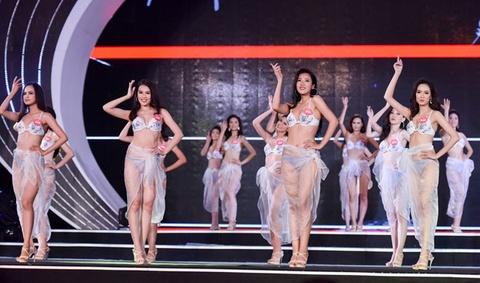Thi sinh Hoa hau Viet Nam phia Bac nong bong voi bikini hinh anh 10