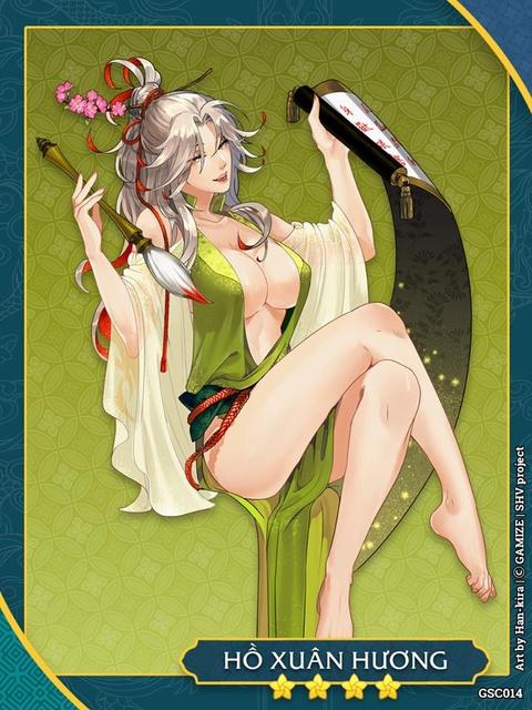 Tao hinh Ho Xuan Huong qua ho hang trong game gay tranh luan hinh anh 1